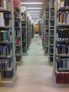 Praying in Between theBookshelves