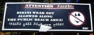 maldives sign