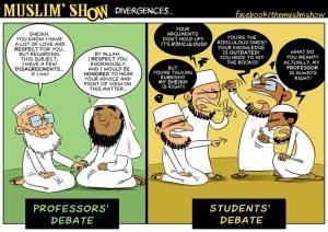 the muslim show comics