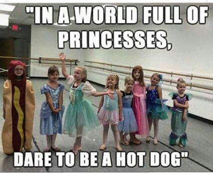 dare to be a hotdog