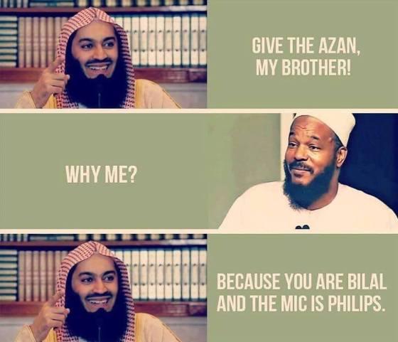 bilal philips joke