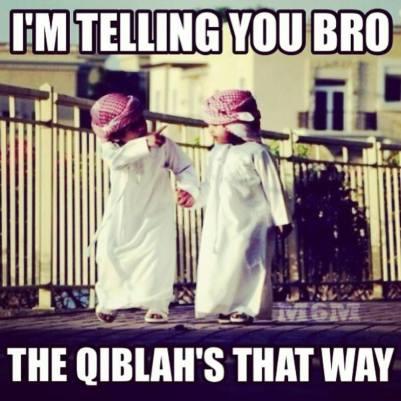 qibla that way