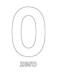 zero number