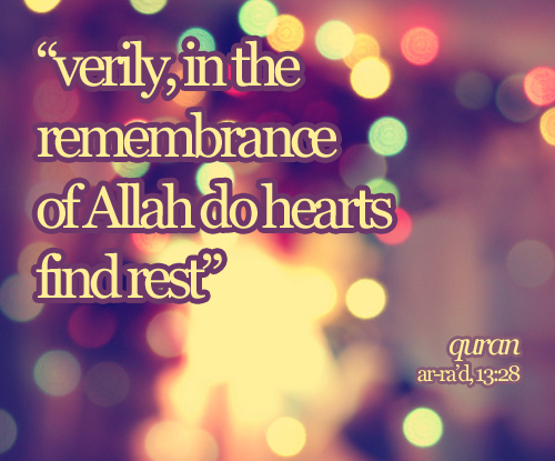 remembrance of Allah